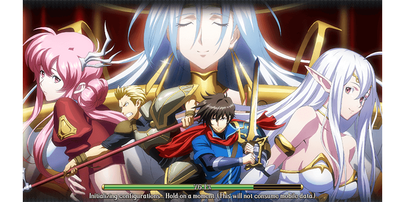 This is a featured image for Langrisser Mobile game review