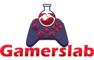 gamers lab logo red